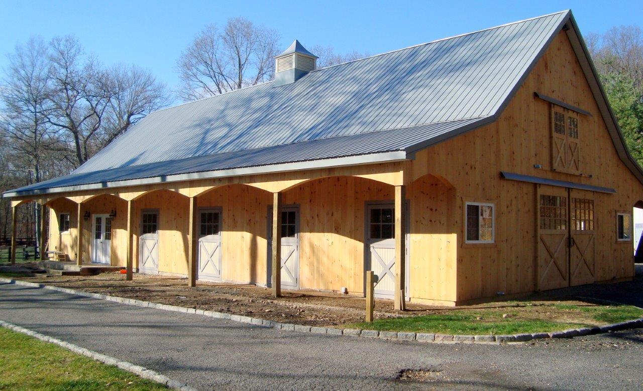 Pole Buildings Horse Barn Supplies Company Pa Nj Ny