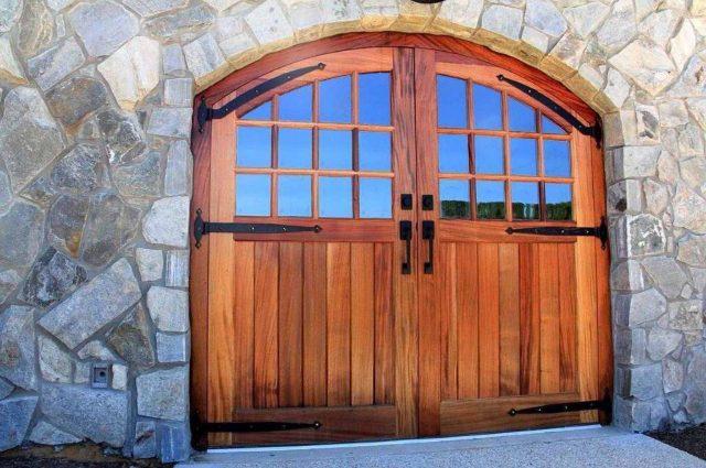 Arch Top Entry Door