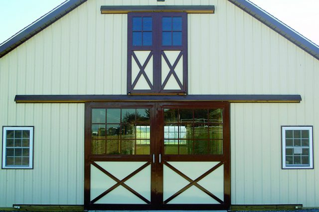 Barn with Double Doors
