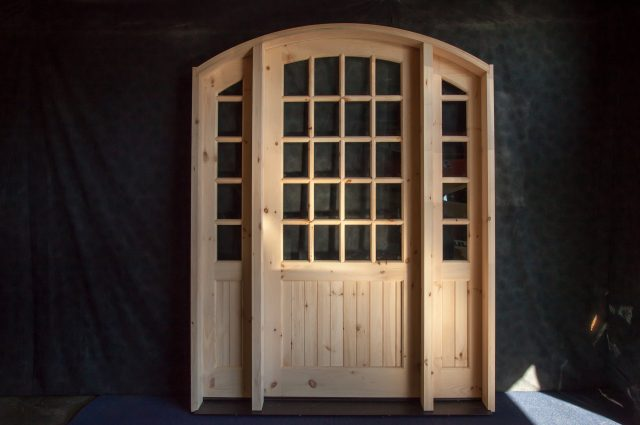 Beautiful Custom Wooden Door