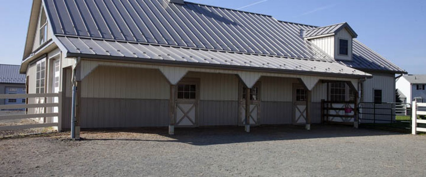 Beautiful Horse Barn located in New Jersey