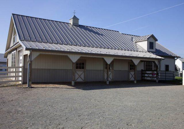 Horse barn kits lancaster pa steel pole barn kit ny for Horse barn materials
