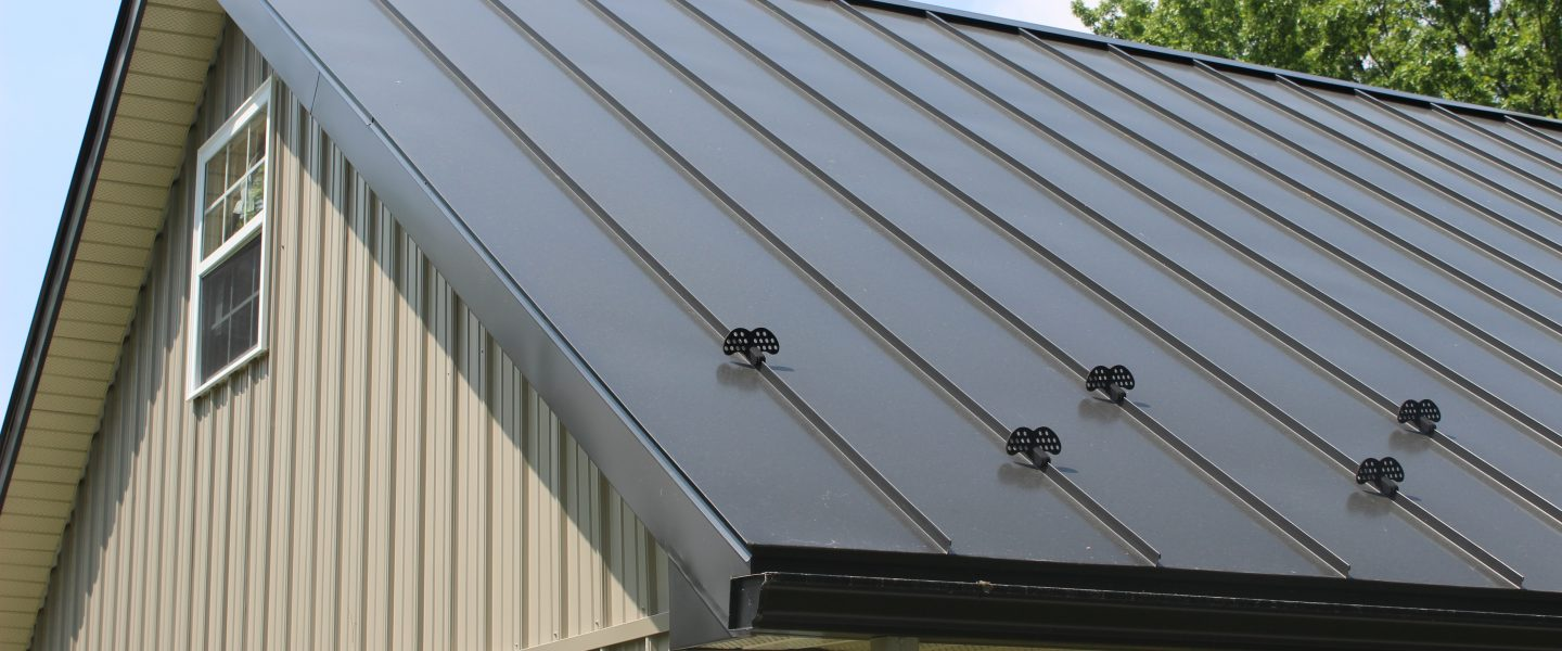 Weathervanes >> Metal Roof Snow Guards | Snow Guard For Standing Seam Metal Roof