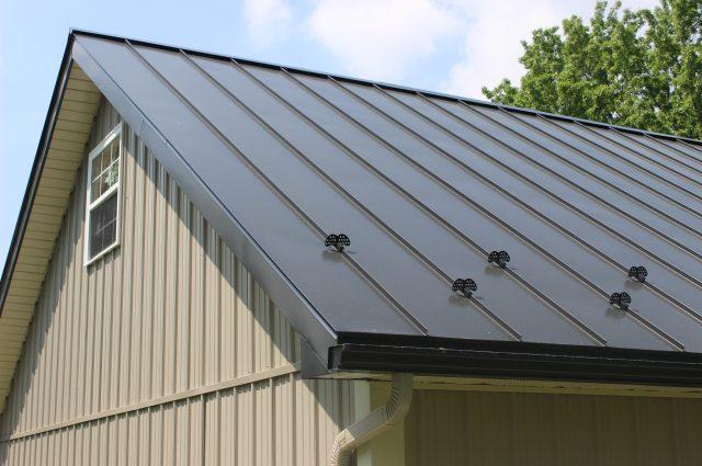 Black Roof Pennsylvania Barn