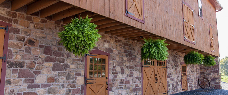Custom Barn Doors with Hardware