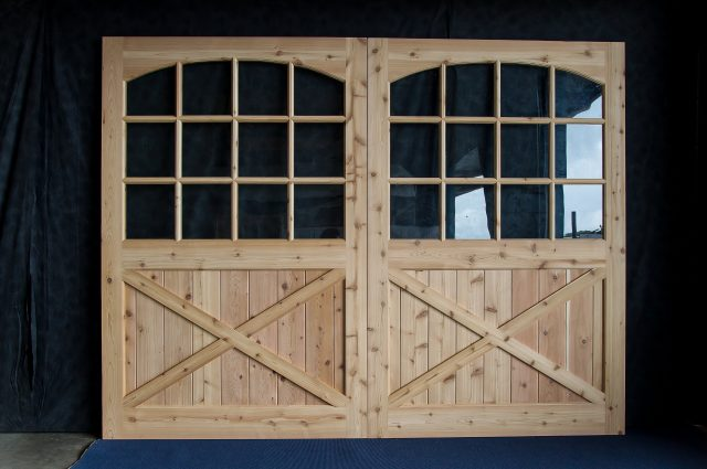 Custom Finished Wooden Door