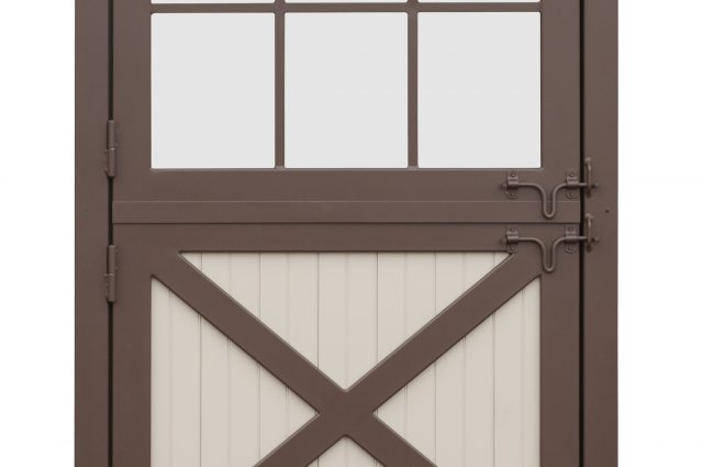 Dutch Door with Windows