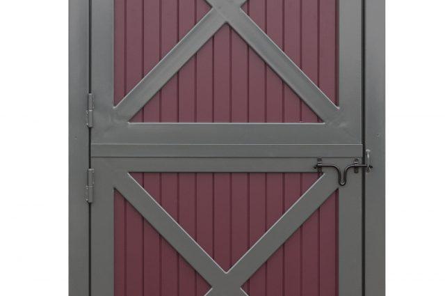 Grey Dutch Doors