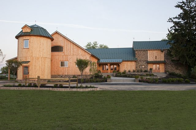 Luxury wooden horse barn ideas