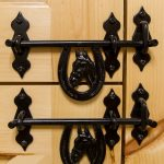 horseshoe latches and other horse stall materials