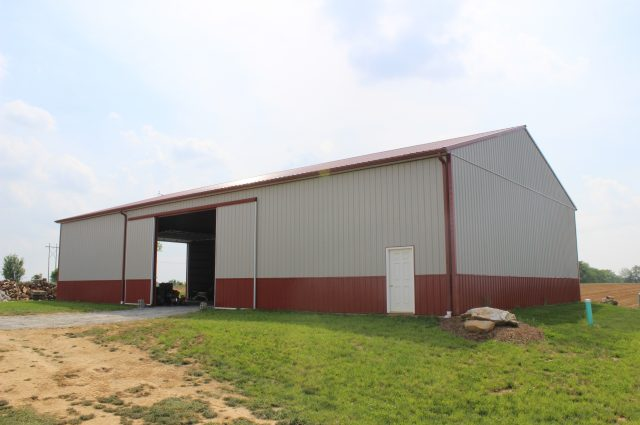 New Holland Pole Barn
