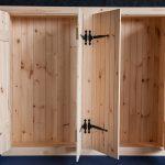 tack closet for custom horse stall