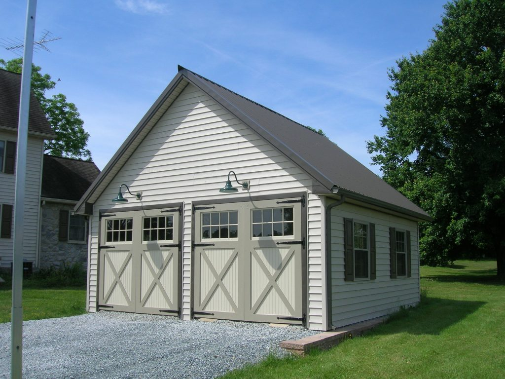 Pole barn kits garage kit pa de nj md va ny ct for Construction garage double