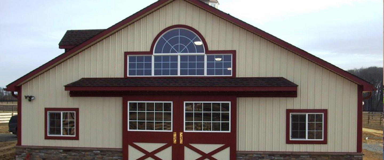 Amish Built Custom Wooden Barn Doors