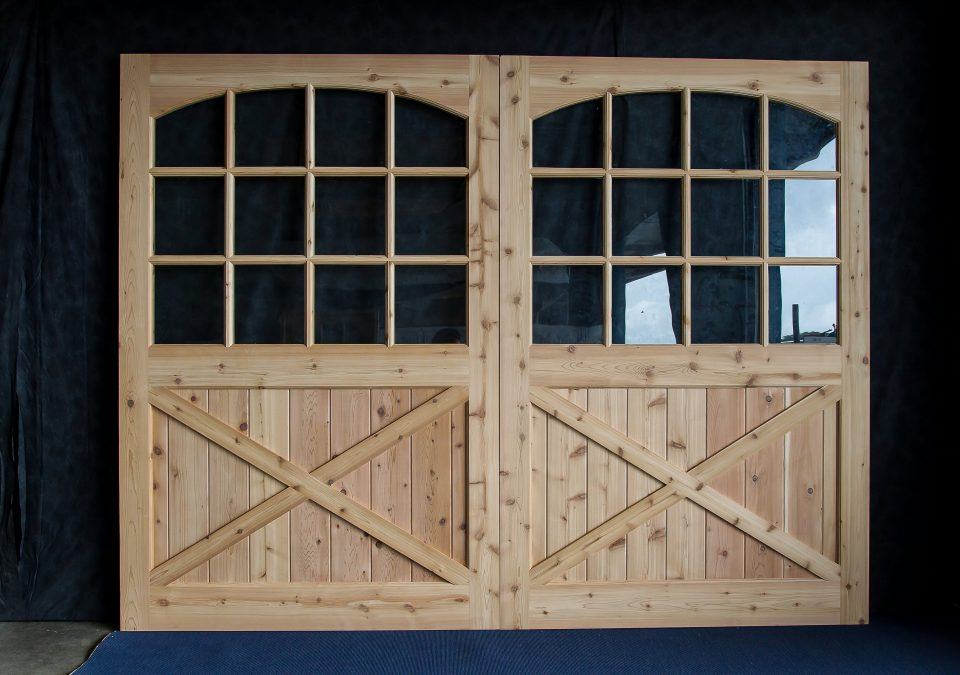 Wooden Overhead Garage Doors