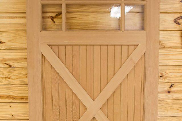 Wooden Rolling Door
