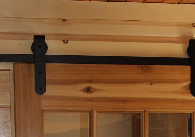 Interior Custom Barn Door Hardware