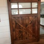 Interior Barn Door Finished by New Holland Supply