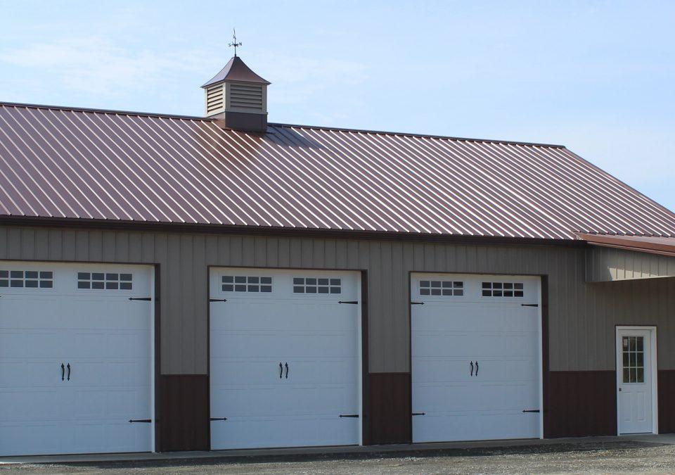 Pole Barn Garage in Virginia