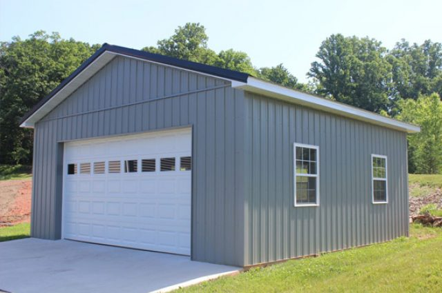 Small custom garage