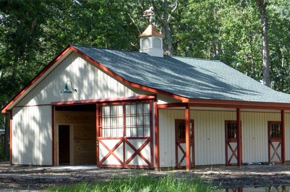Affordable Horse Barns in Pennsylvania