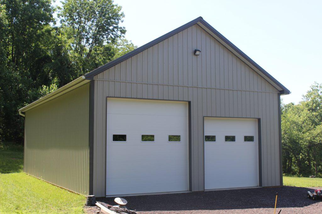 grey pole barn design scheme