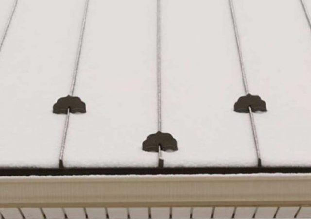 metal roof snow guards